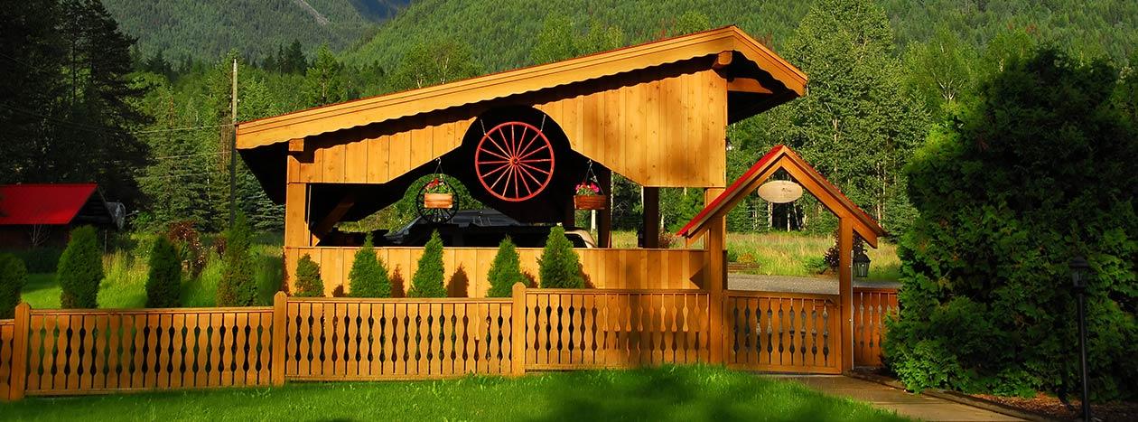 Terrassen zaun spielger te kvh bsh osb schaumburg hannover hildesheim carports pavillons holz - Flexibler gartenzaun ...